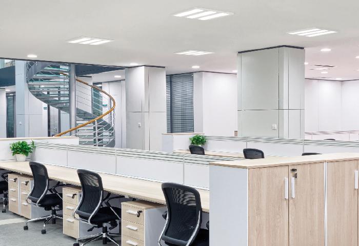 Iluminar un espacio de trabajo