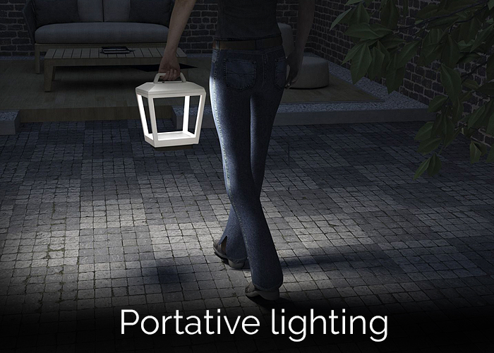 Portative lighting